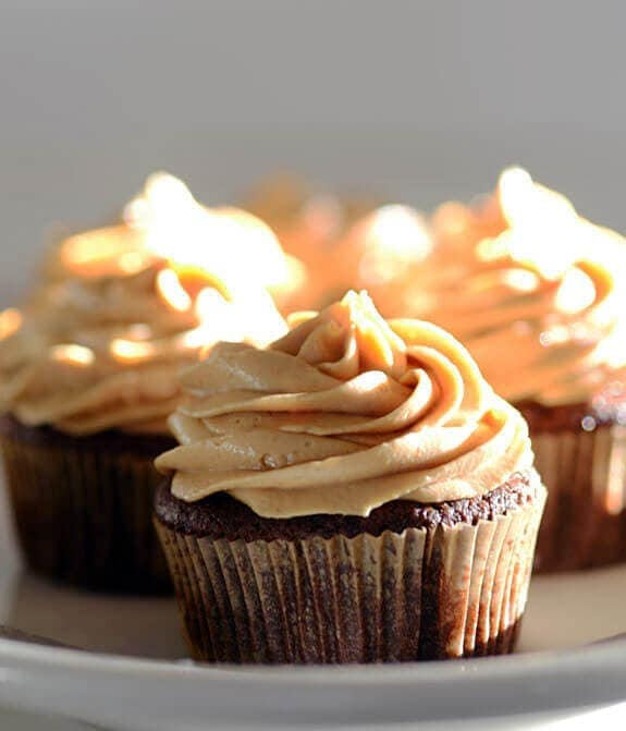 Peanut Butter Frosting Recipe for Cupcakes | Elana's Pantry
