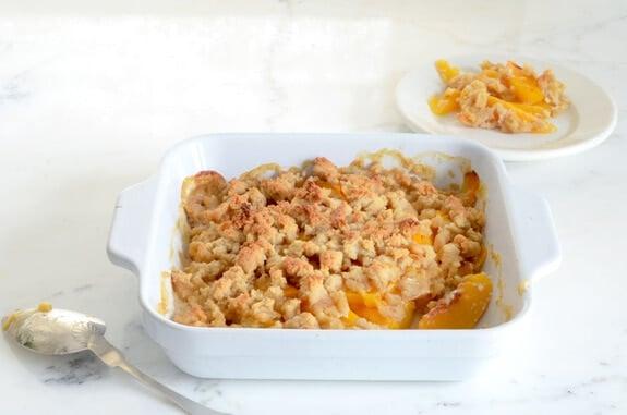 paleo peach crisp