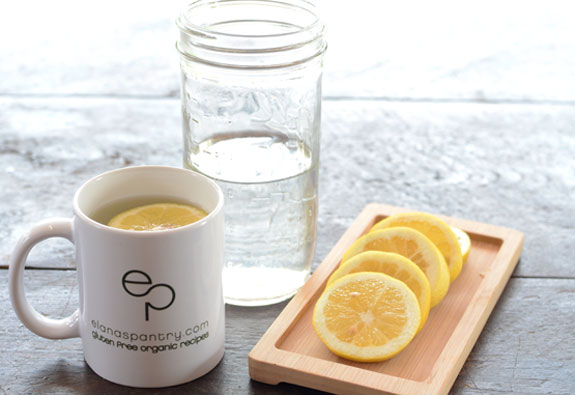 Start the Day with Hot Water and Lemon