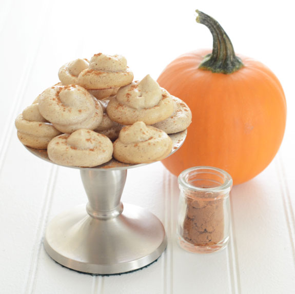 Pumpkin Spice Meringues paleo dessert recipe