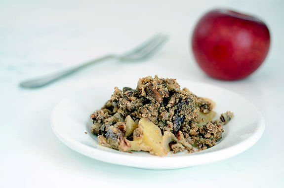 pecan apple crisp paleo recipe