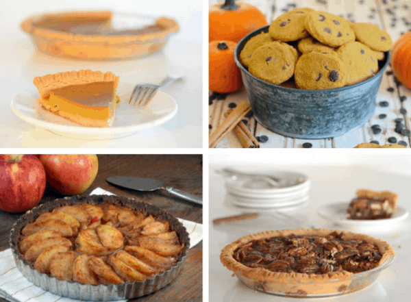 10 Paleo Thanksgiving Dessert Recipes