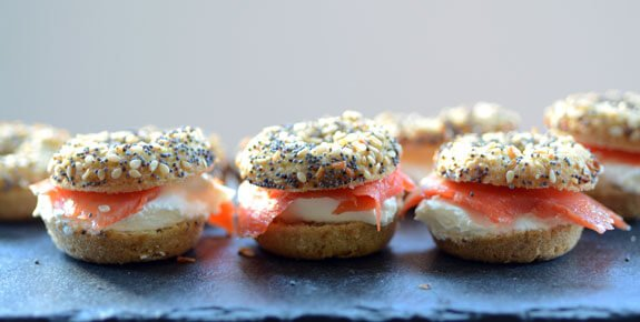 paleo everything Mini Bagels recipe