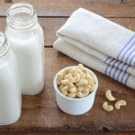 homemade cashew milk paleo recipe