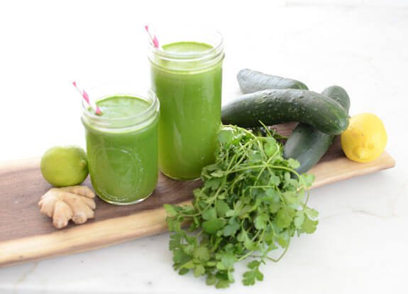 Cilantro Detox Juice recipe