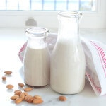 homemade almond milk paleo recipe dairy-free