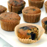 Blueberry Muffins paleo recipe