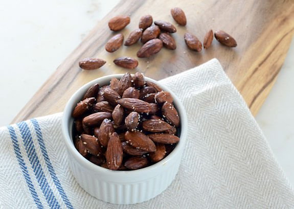 How to Roast Almonds recipe paleo