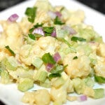 No Potato Salad paleo recipe