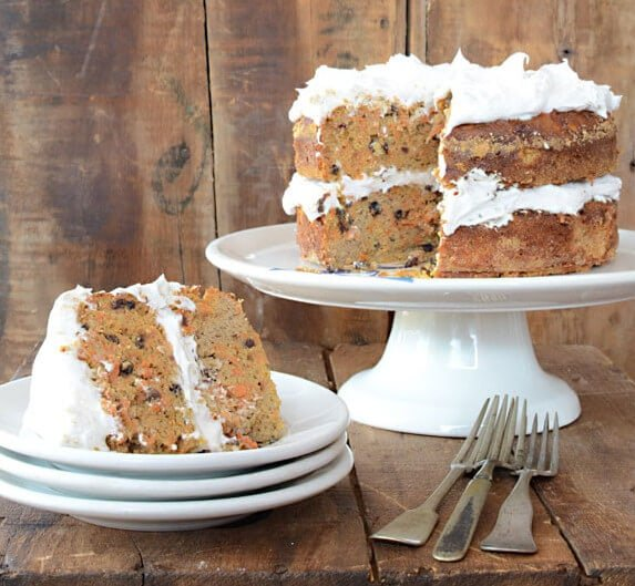 Nut-Free Paleo Carrot Cake recipe