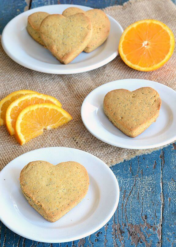 Orange Poppy Seed Scones paleo recipe