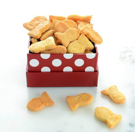 Paleo Goldfish Crackers recipe