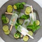 Sugar-Free Mojito Popsicles