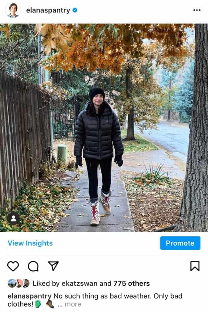 Elana Fall Walk