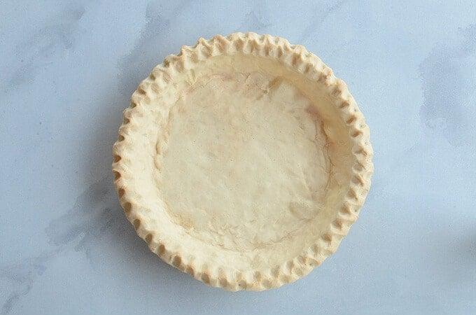 Nut-free egg-free pie crust