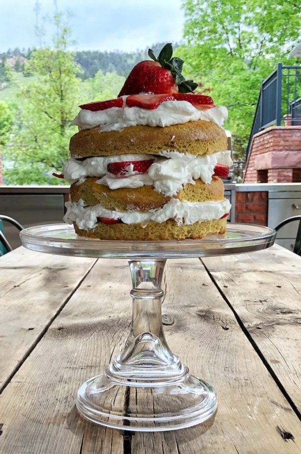 Low-Carb Strawberry Shortcake