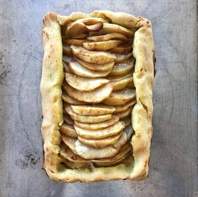 Gluten-free apple galette recipe