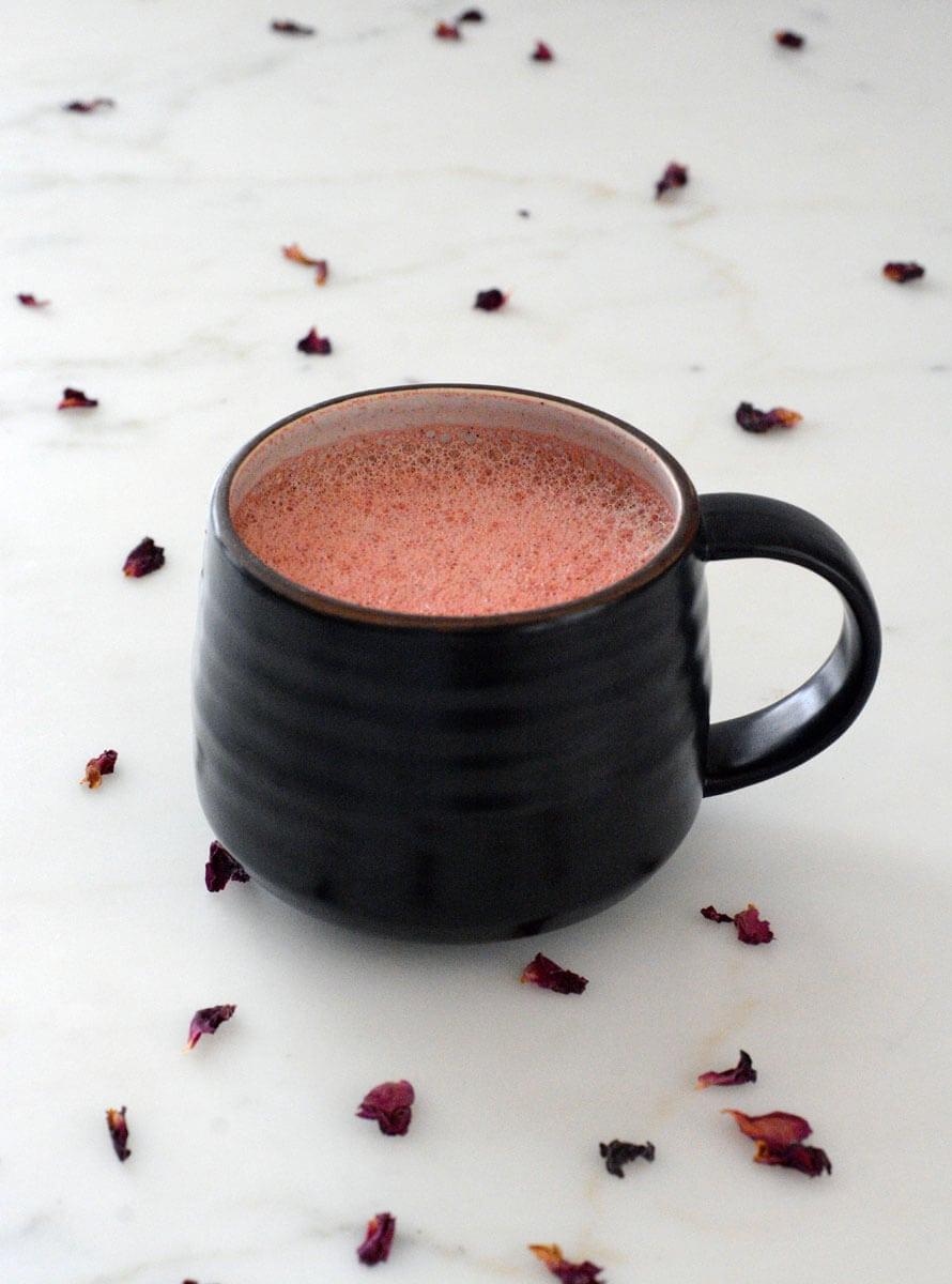 Rose Quart Latte