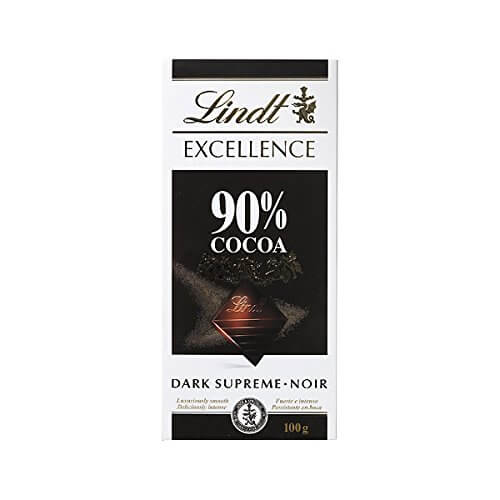 Lindt 90% Dark Chocolate