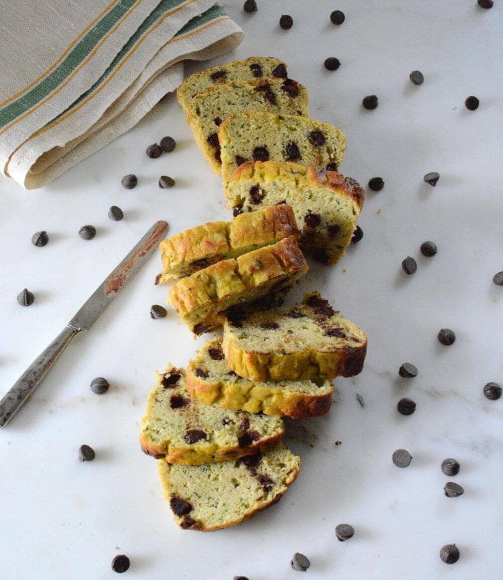 Keto Nut-Free Zucchini Bread