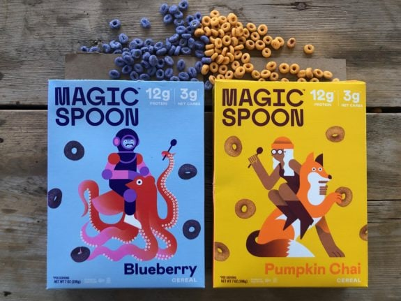 Magic Spoon Blueberry & Pumpkin Chai
