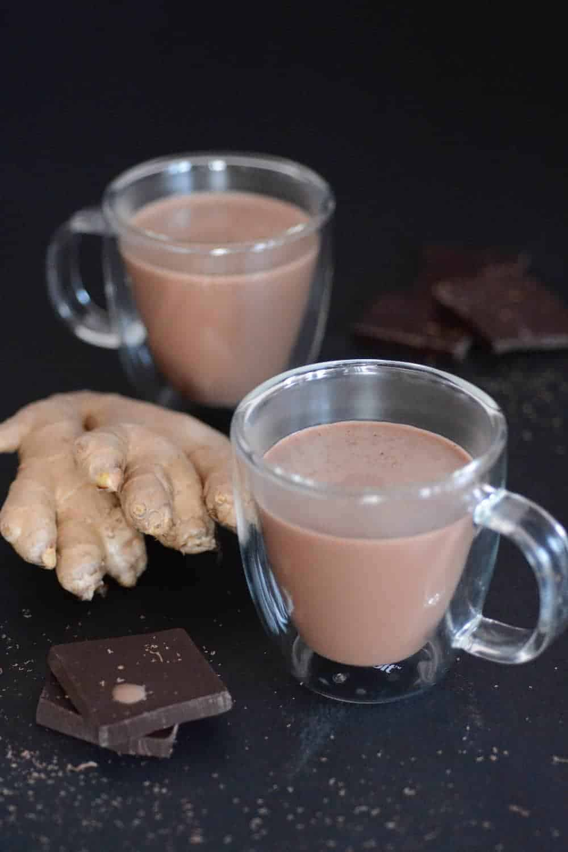 Keto Ginger Hot Chocolate