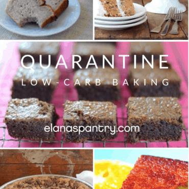 Quarantine Low-Carb Baking