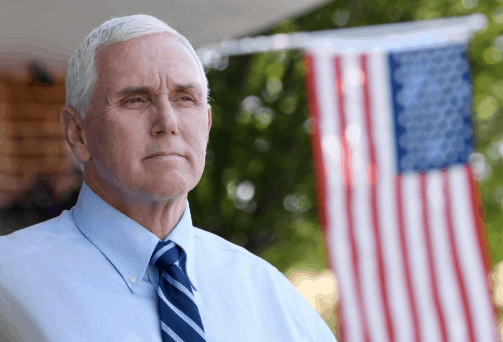 Vice President Pence Unmasked
