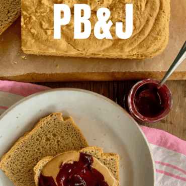 Keto Peanut Butter And Jelly Sandwich