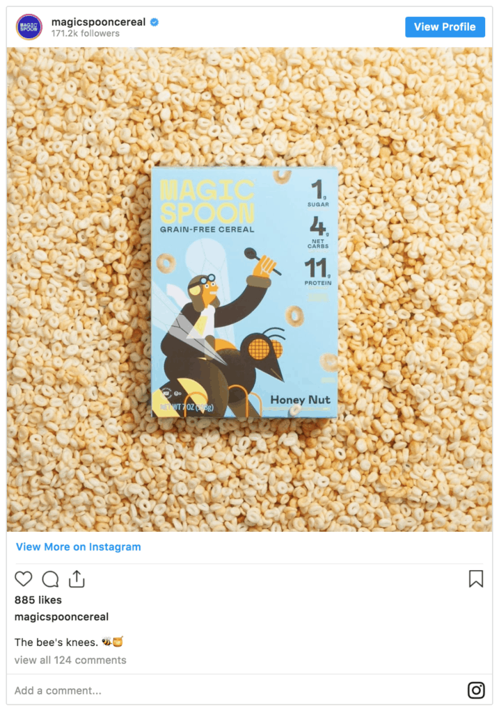 Magic Spoon Keto Cereal