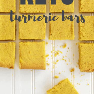 Keto Turmeric Bars