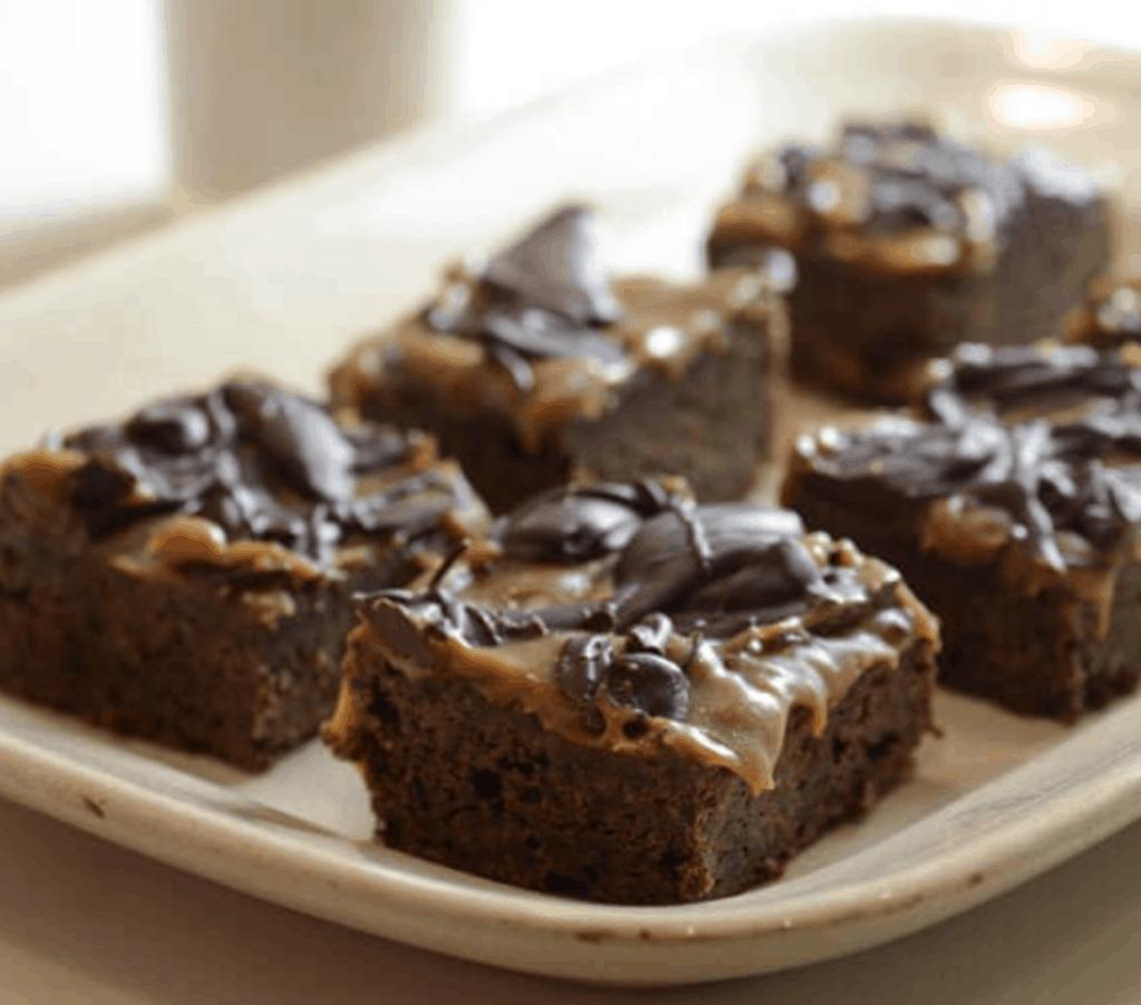 Paleo Caramel Brownies