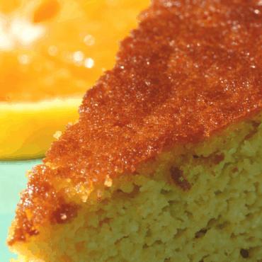 Gluten-Free Orange Cake with Almond Flour
